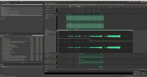 Panning the engine sounds in Adobe Audition