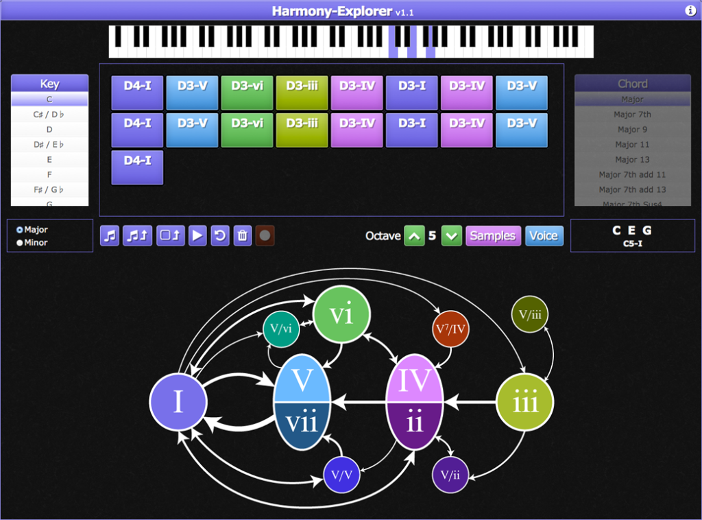 Click to explore your own harmonies!
