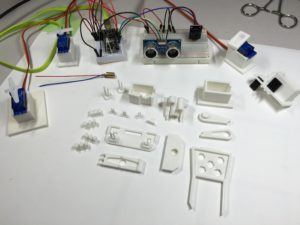 Printed parts and components