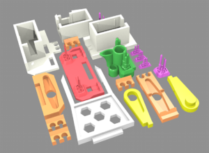 3D printing layout
